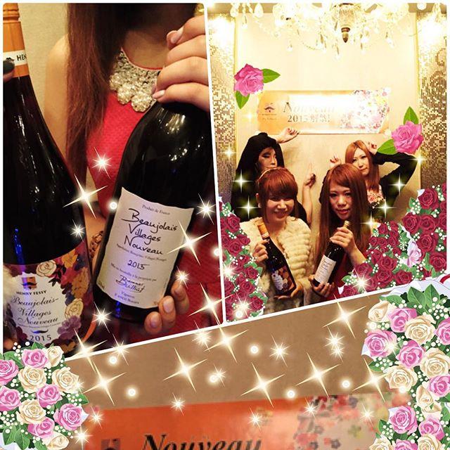 こんばんわ️ボジョレーヌーヴォー解禁です(^^)️もちろん!用意しておりますみんなでおいしいワインで盛り上がっちゃいましょう️️️